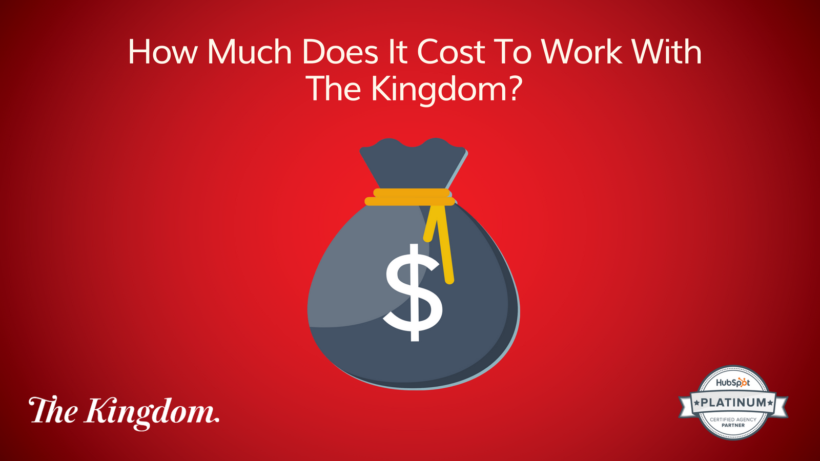 The Kingdom How Much Does it cost?