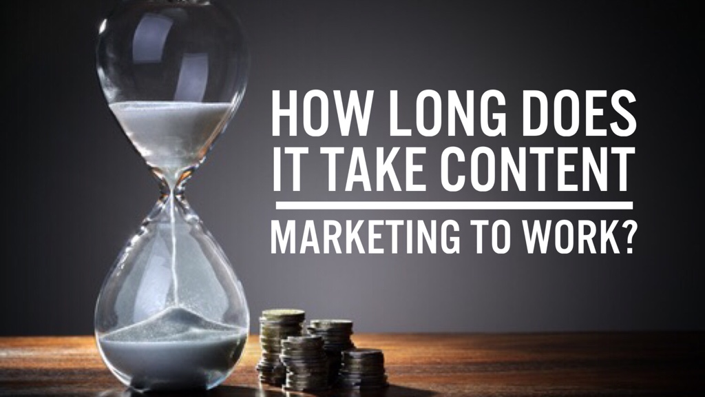 How Long Does It Take to Get Content Marketing to Work?