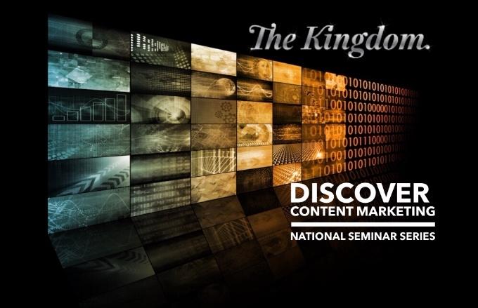 The Kingdom Content Marketing Seminar