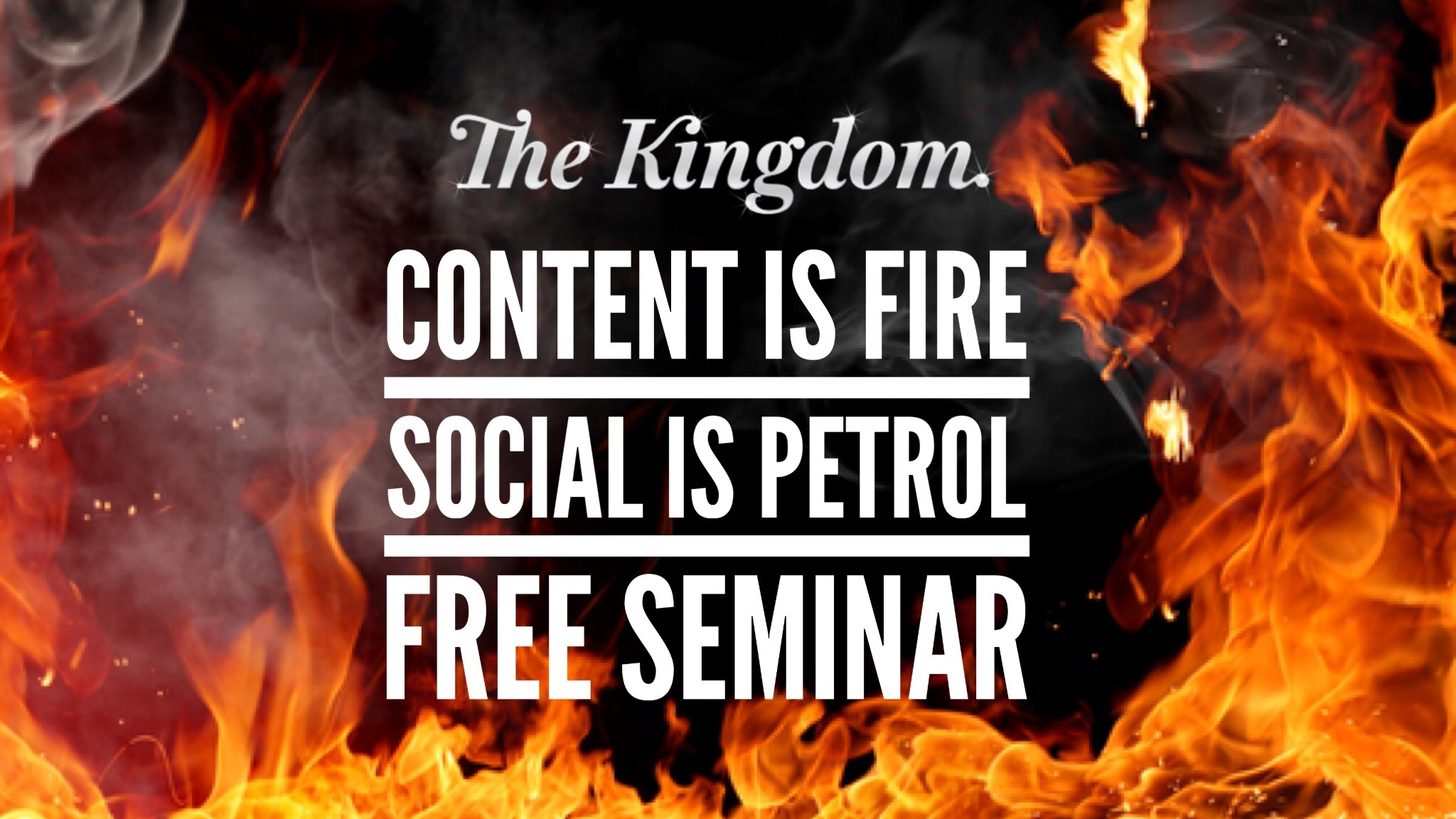 The Kingdom Free Seminar