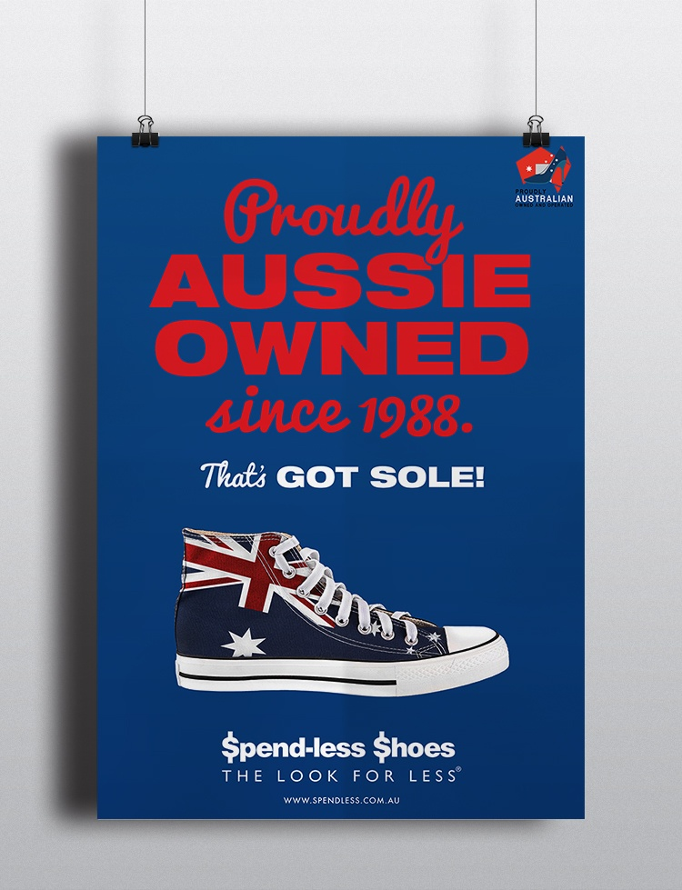 "The Kingdom Spend-less ""Aussie Owned"" Campaign"