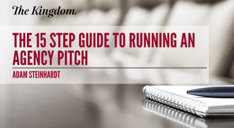 How to run an advertising agency pitch for Advertising agency pitch
