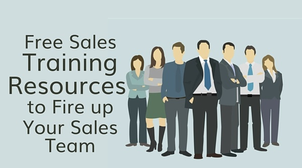 5 free sales training resources to fire up your sales team