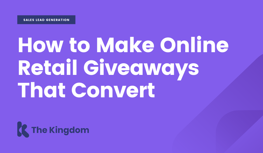 How to make Online Retail Giveaways that Convert