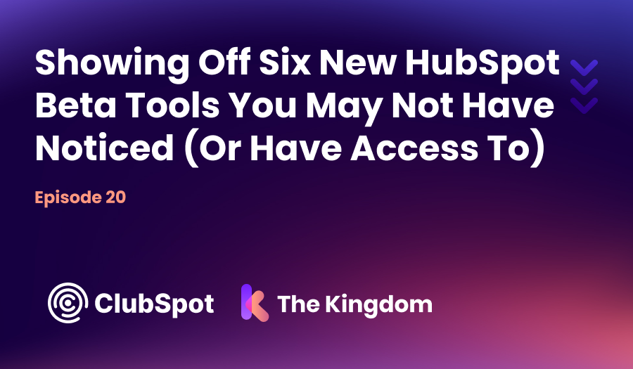 The Kingdom ClubSpot Episode 20