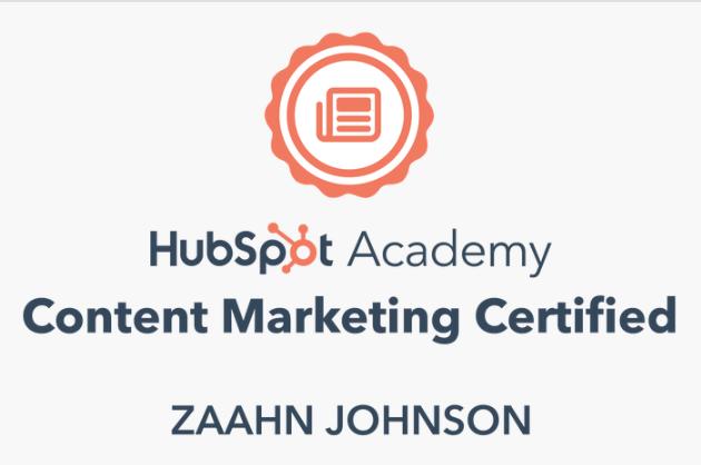 Zaahn Johnson Content Marketing Expert