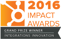 Integrations Innovation Grand Prize 2016 Small
